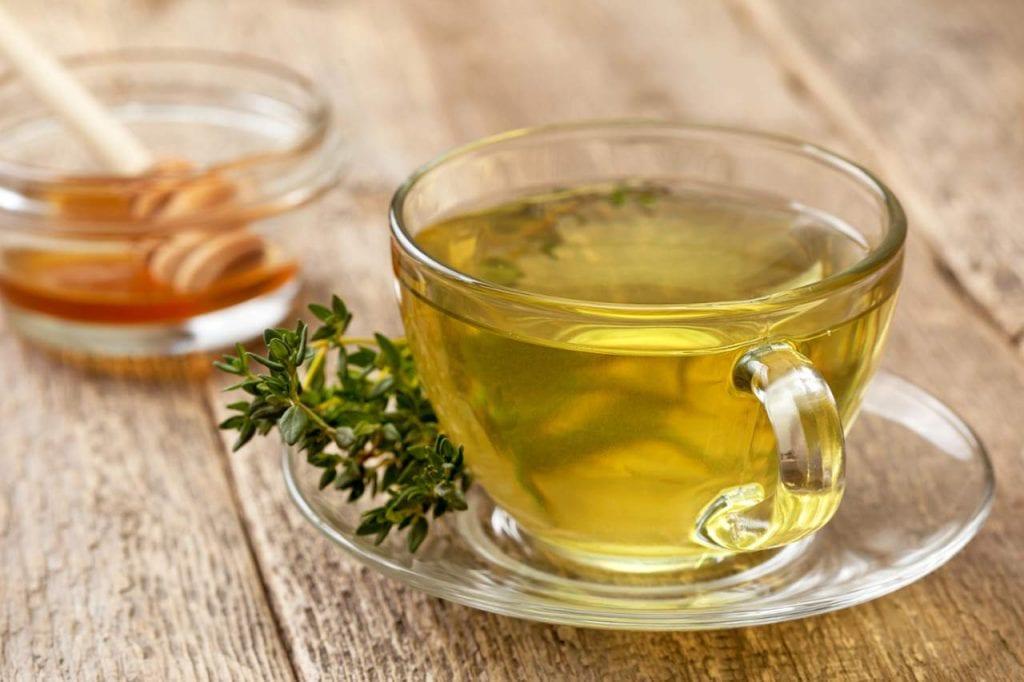 Przepis na herbatkę z tymiankiem