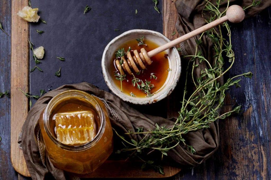 Przygotowanie herbatki z tymianku
