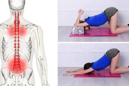 Ćwiczenia rozciągające, które zahamują ból pleców w jedyne 10 minut!