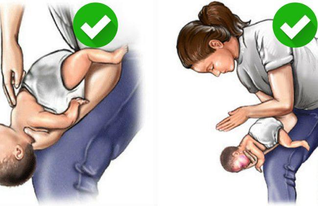 Ratuj zadławione dziecko. Śmierć przez zadławienie jest bolesna!