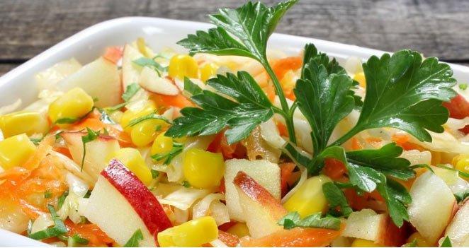 Dietetyczne i pyszne sałatki
