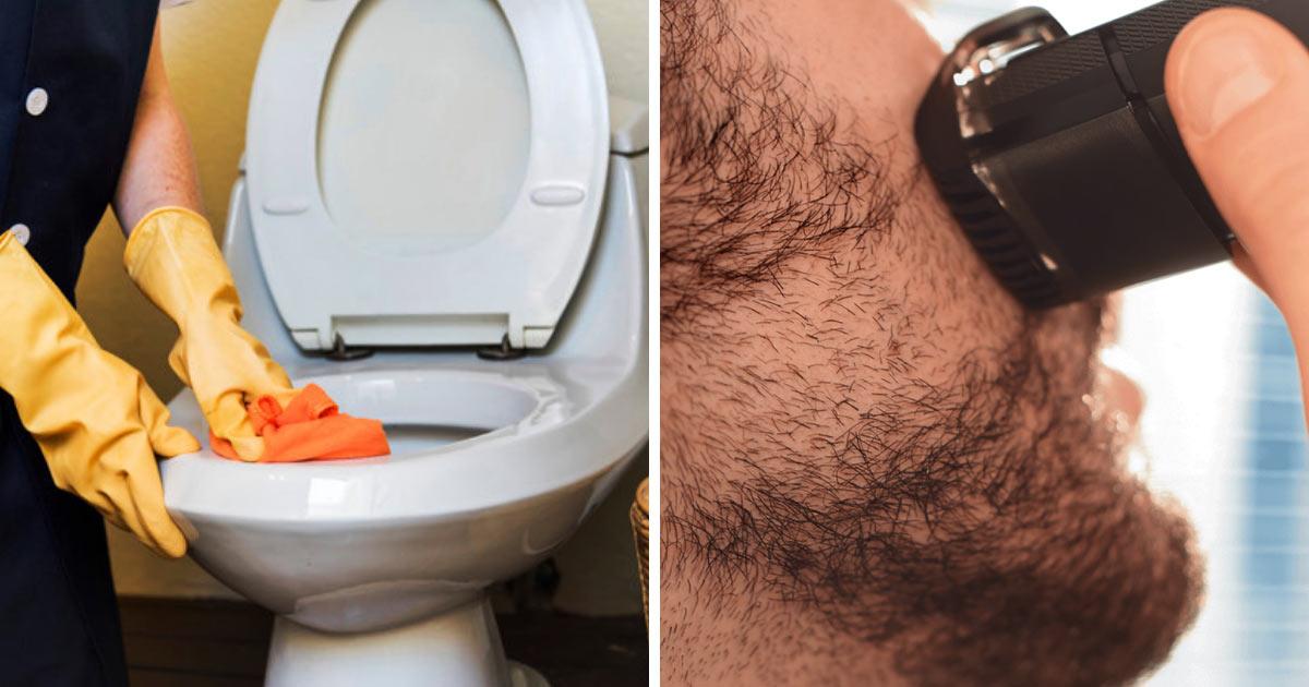 Męski zarost to siedlisko bakterii! Jest ich więcej niż na desce klozetowej!