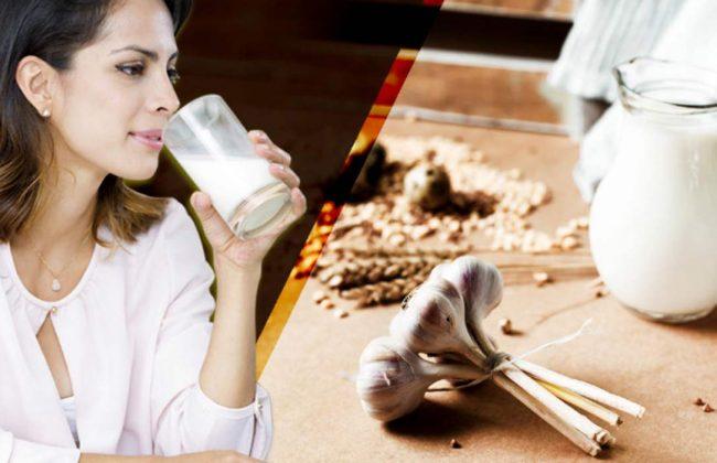 Magiczne połączenie mleka i czosnku może zdziałać cuda