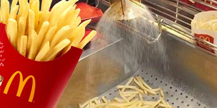 UWAŻAJ na Frytki z McDonald's. Spożywasz składniki stosowane do usuwania pleśni!