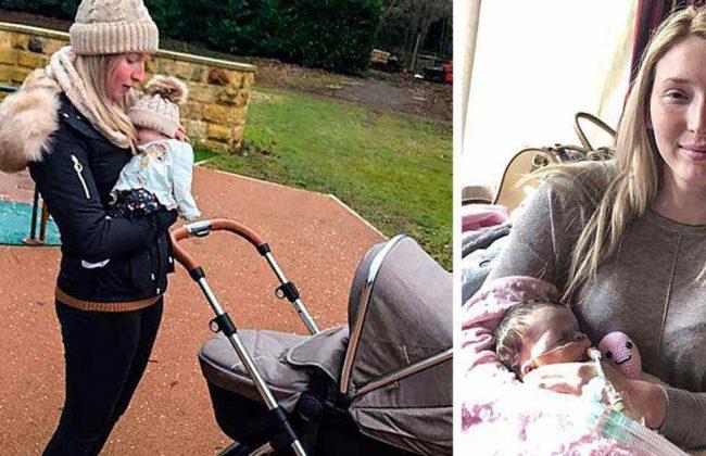 Spędziła ponad 2 tygodnie z martwą córką, tuląc ją i chodząc na spacery!