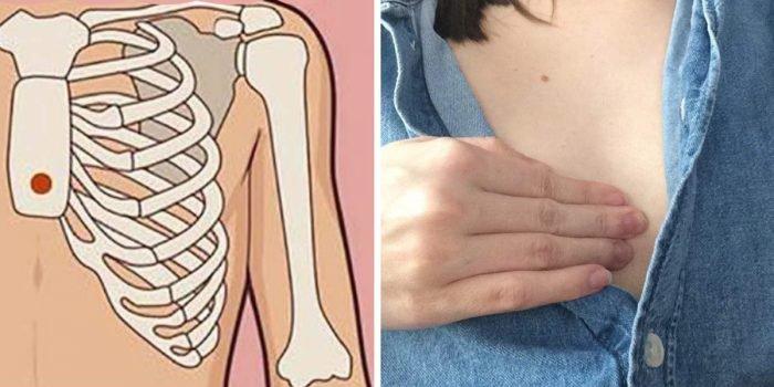 Naciśnij odpowiedni punkt na klatce piersiowej. Częsty problem zniknie!
