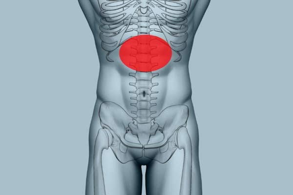 Tępy ból brzucha