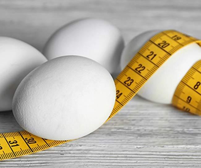 Jajka na nadwagę