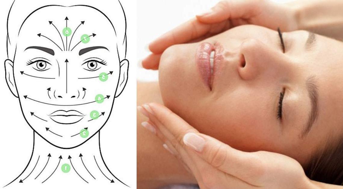 Masaż przeciwzmarszczkowy twarzy i szyi
