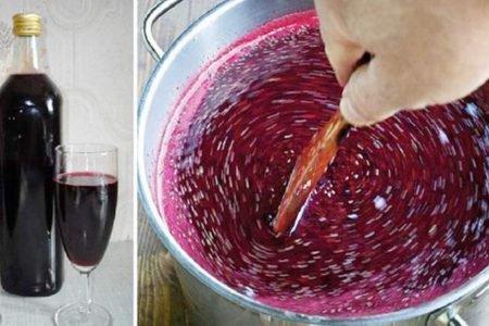 Wino domowej produkcji