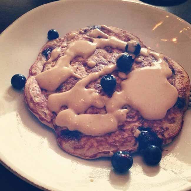 Zdrowy pancake