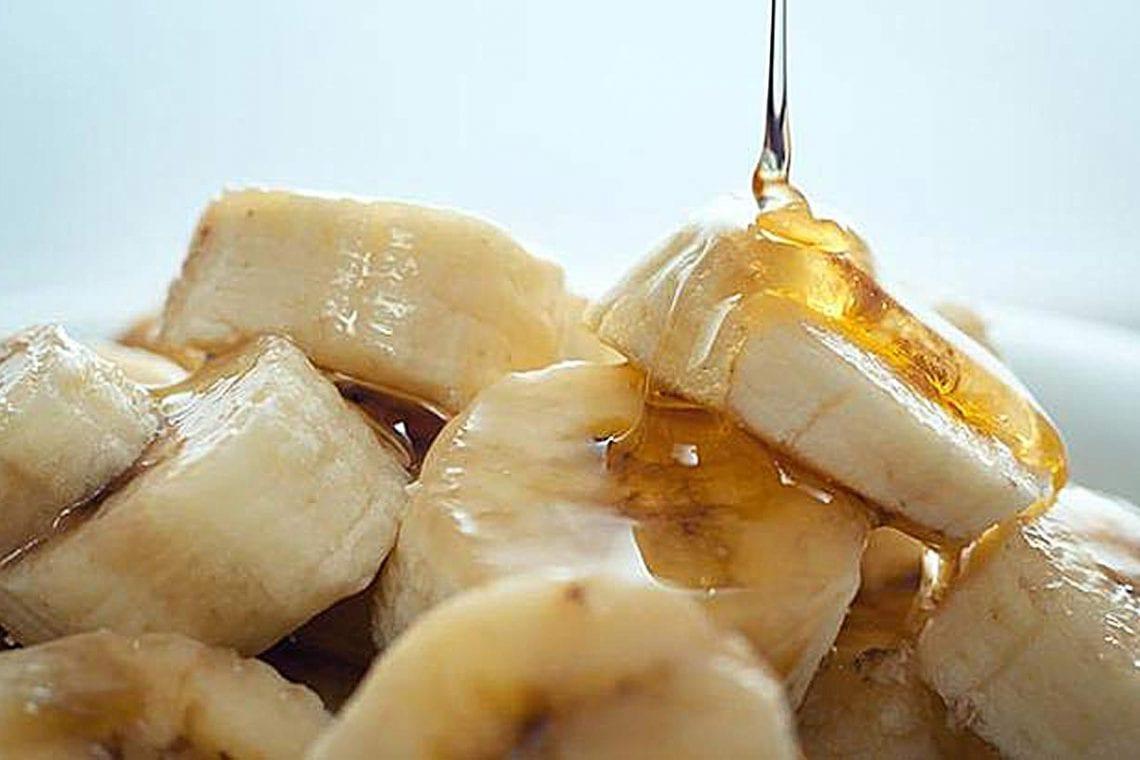 Banany z miodem