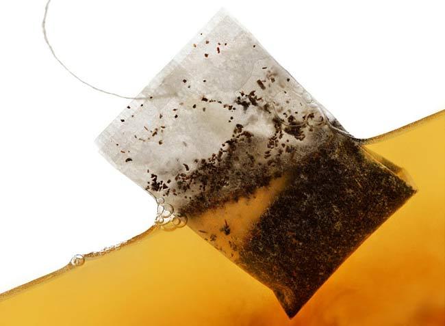 Rakotwórcze torebki herbaciane