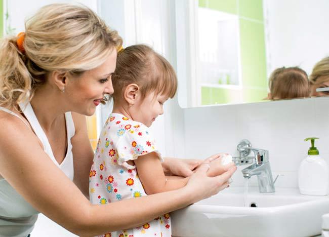 higiena osobista u dziecka