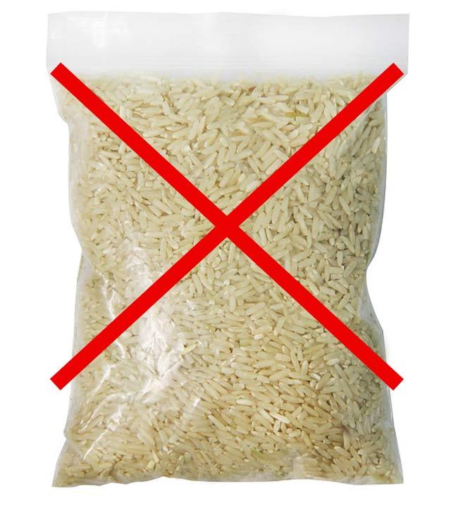 ryż w woreczkach