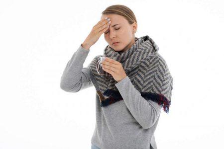 Pierwsze objawy przeziębienia