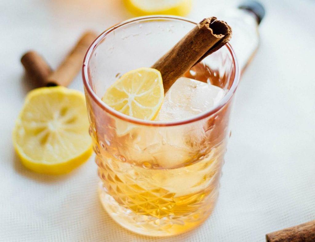 Whiskey z cytryną