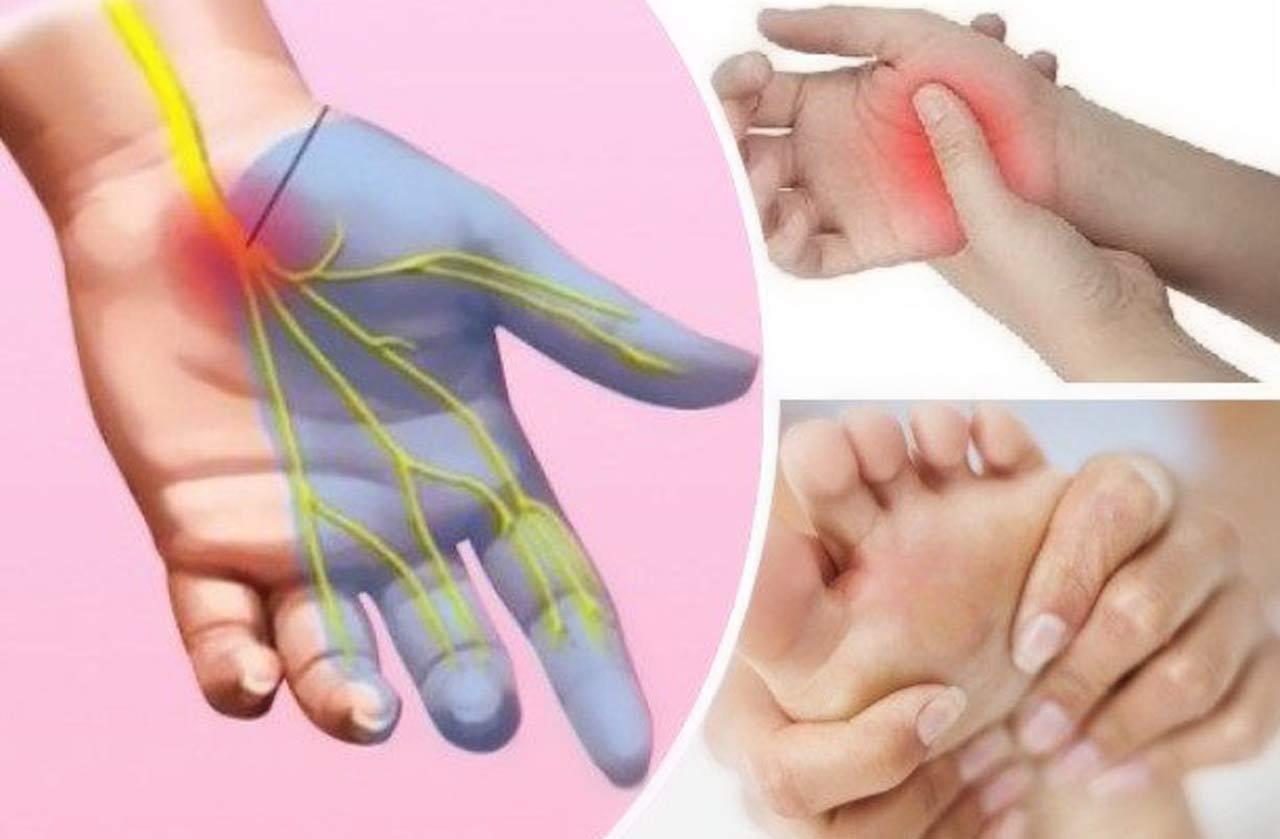 drętwienie rąk