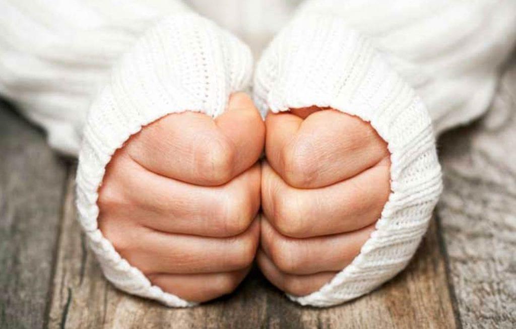 Przyczyny zimnych dłoni