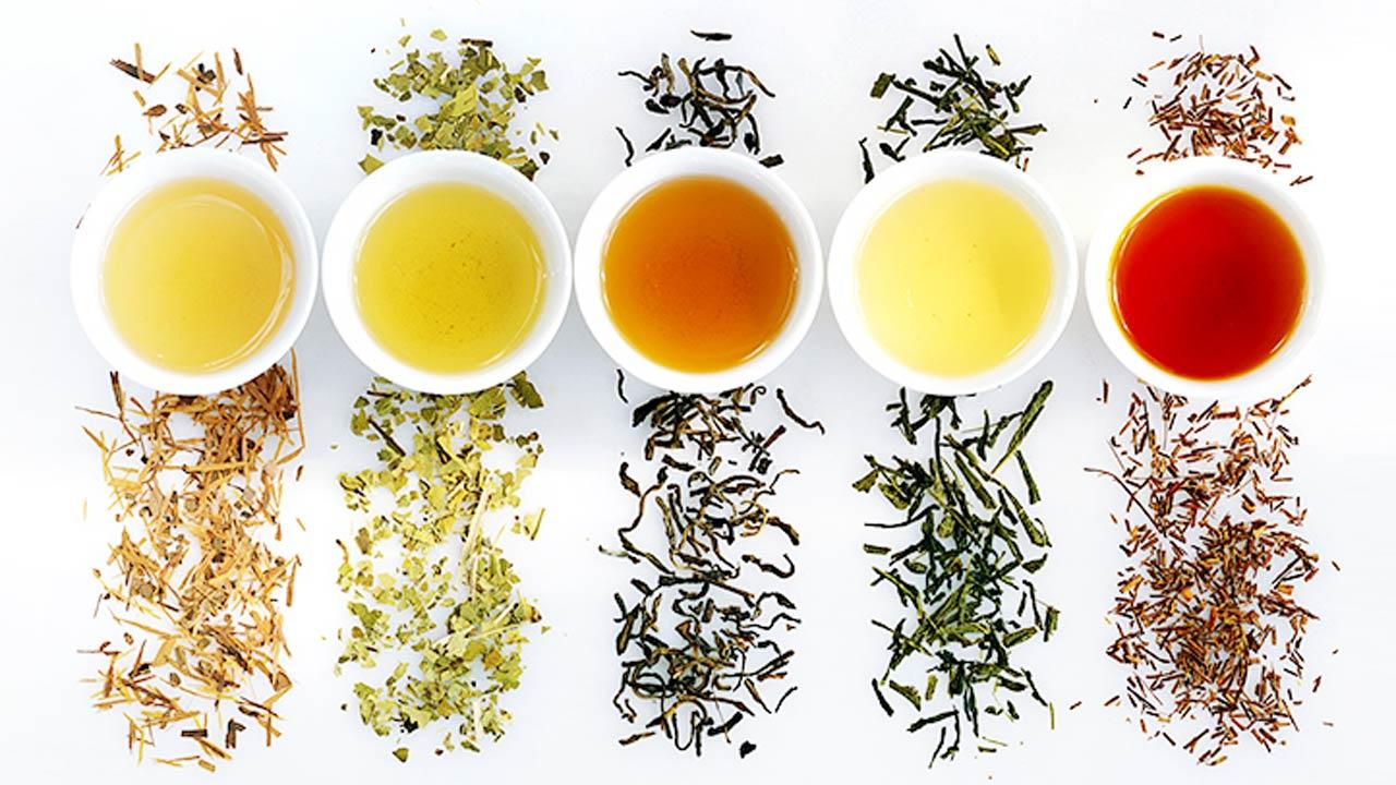 Rodzaje herbat i ich właściwości