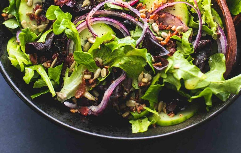 Zielone sałaty