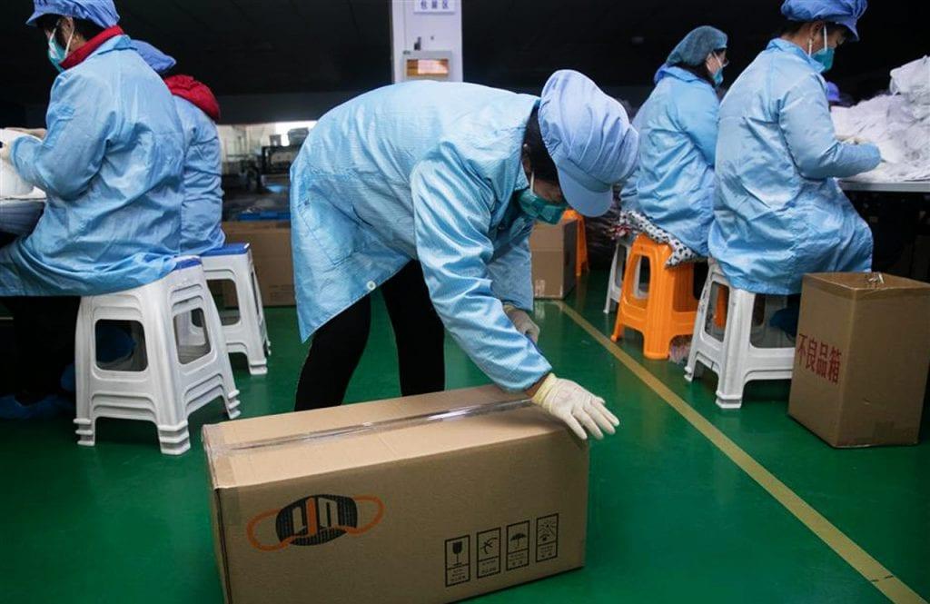 Koronawirus a przesyłki z Chin