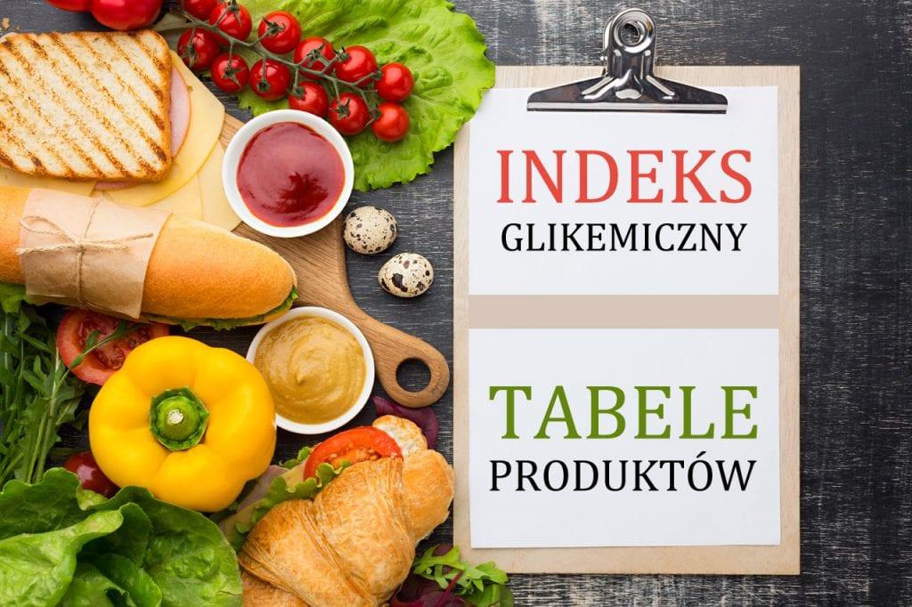 Indeks glikemiczny tabela produktów