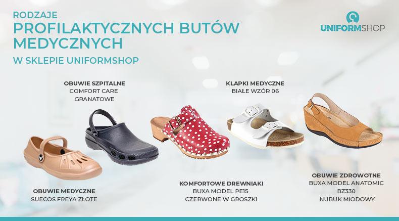 Rodzaje butów medycznych