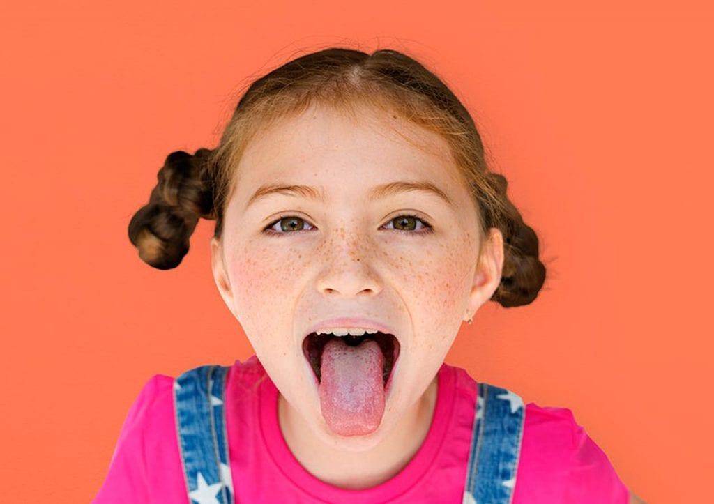 Język u dzieci