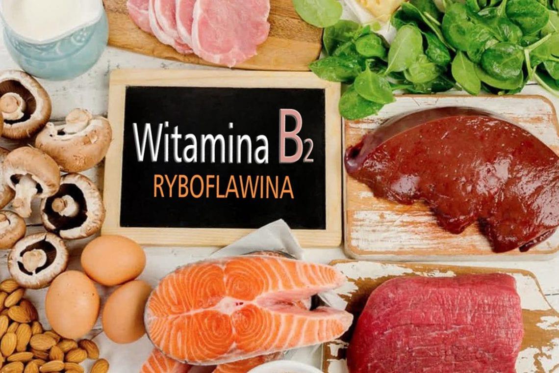 Witamina B2 - ryboflawina