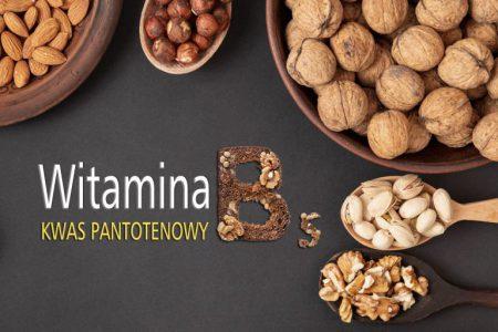 Witamina B5 - kwas pantotenowy